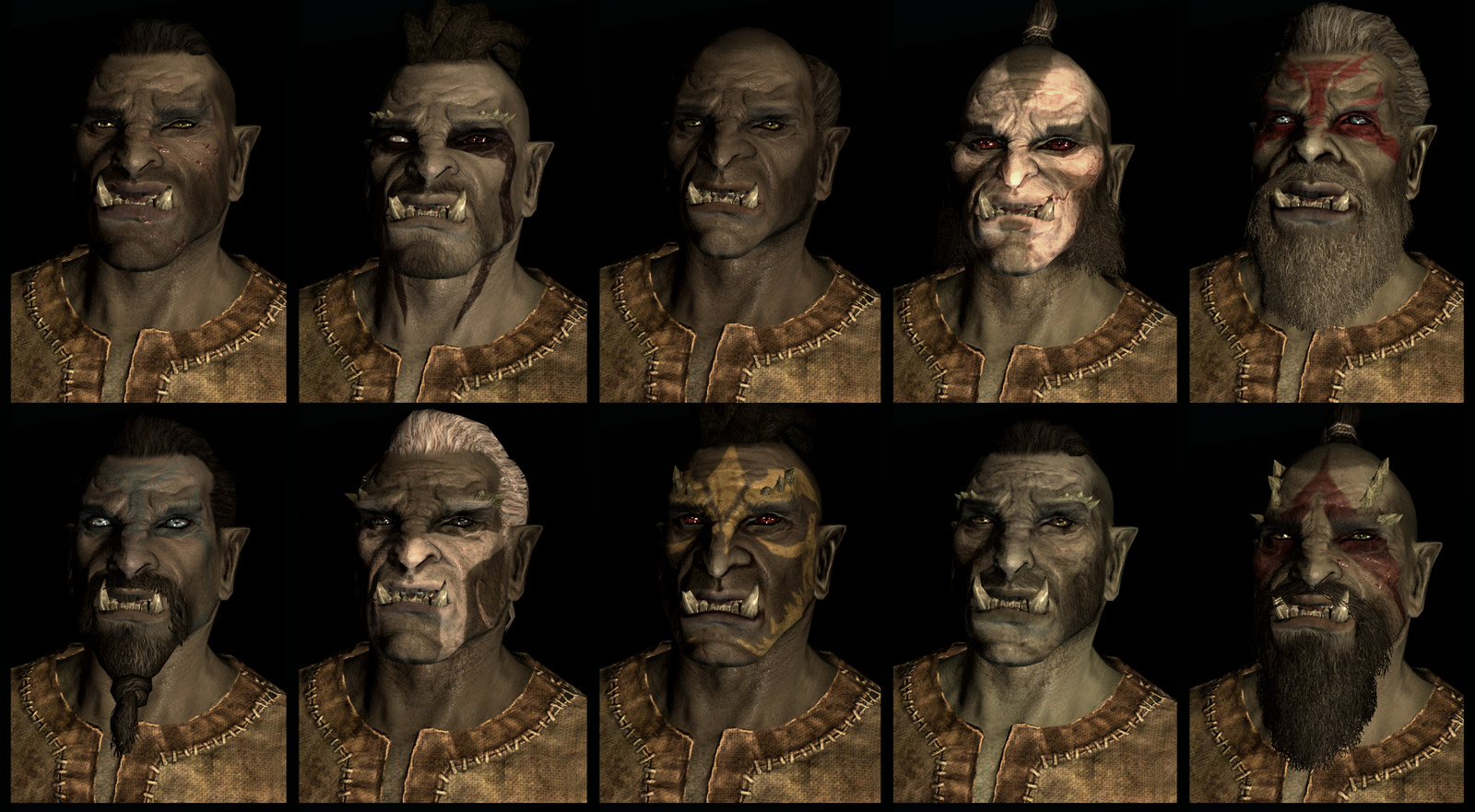 Skyrim Character Presets The Escapist