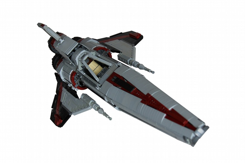 Battlestar Galacticas Colonial Viper Gets The Lego Treatment The