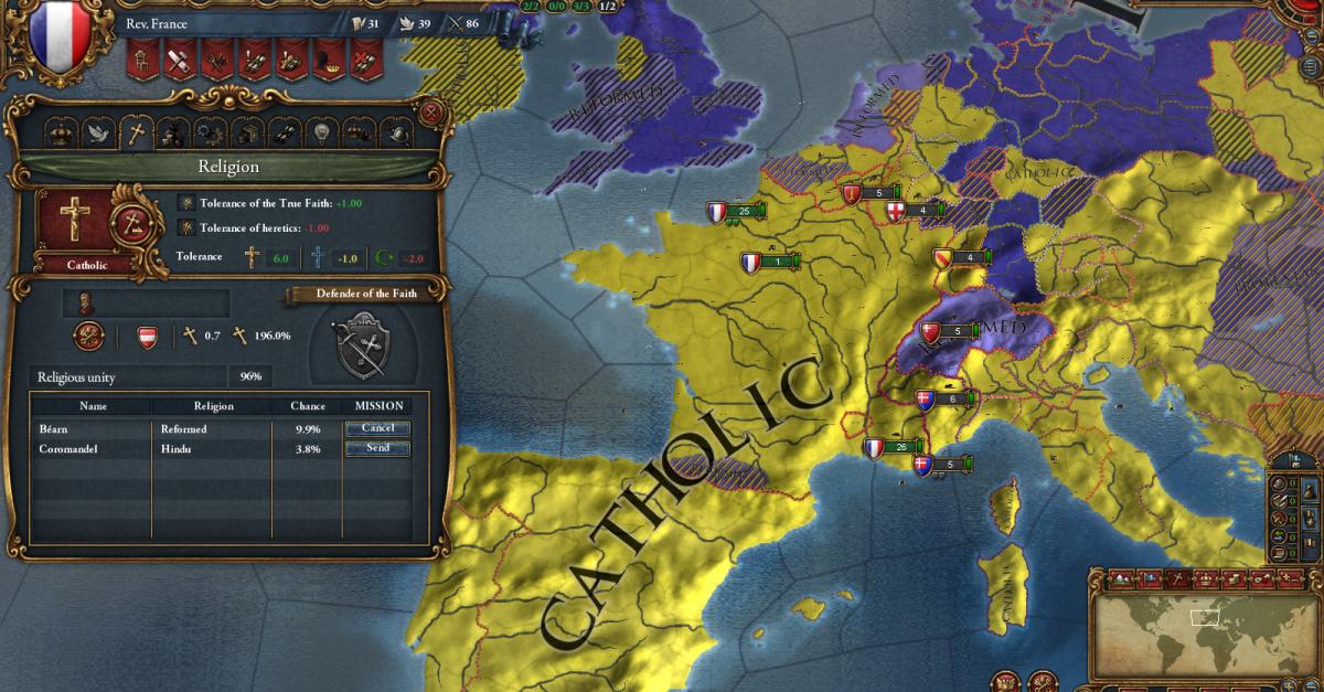 Europa Universalis and Crusader Kings Have Average Play