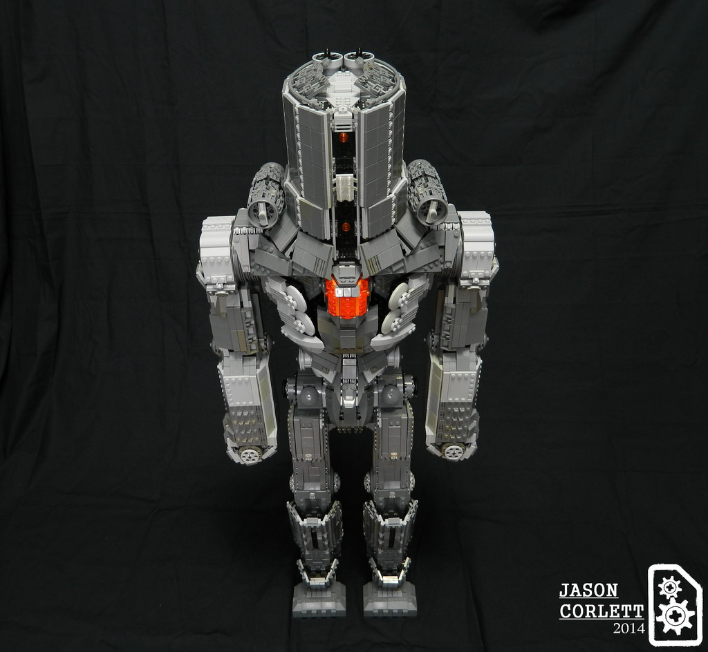 Pacific Rims Cherno Alpha Recreated By LEGO Artist