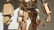 Cardboard OptimusBy Kai-Xiang Xhong