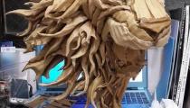Cardboard Lionby Kai-Xiang Xhong
