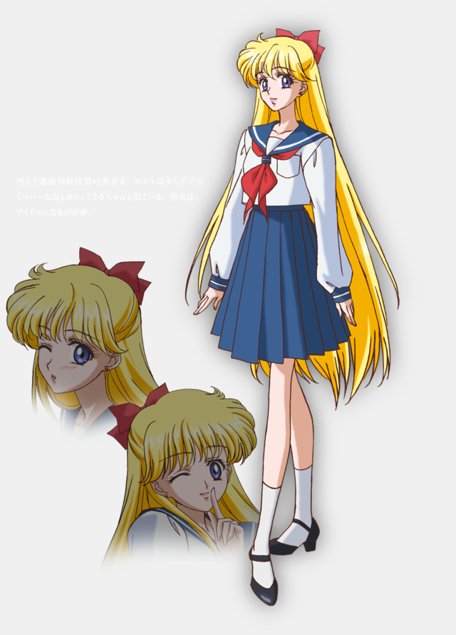 First Look At The Sailor Moon Crystal Character Designs