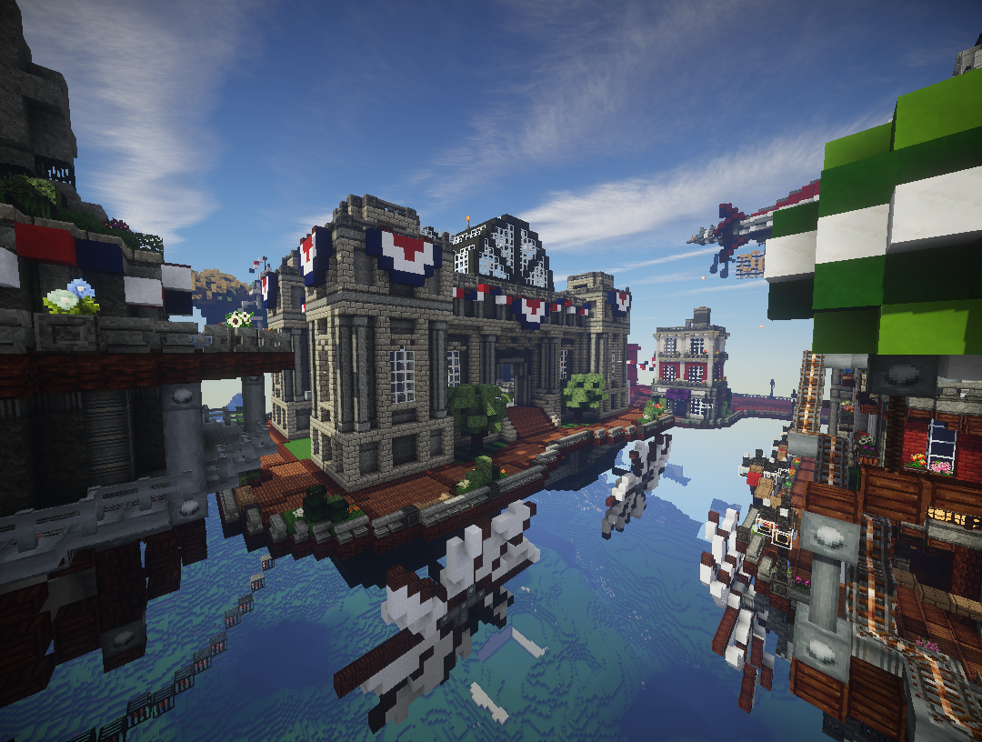 Columbia in MinecraftBy The Voxel Box