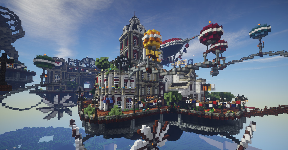 BioShock Infinite's Floating City of Columbia Re-Created in
