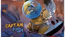 Captain Fish, new monster in King of New York, published by IELLO.