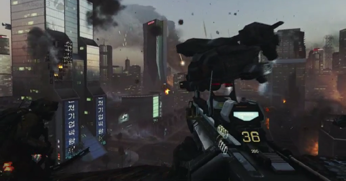 Call of Duty: Advanced Warfare Gameplay Unveiled at Xbox ...