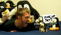 Mike Thompson, Winston, Assorted Penguins, and an Imp
