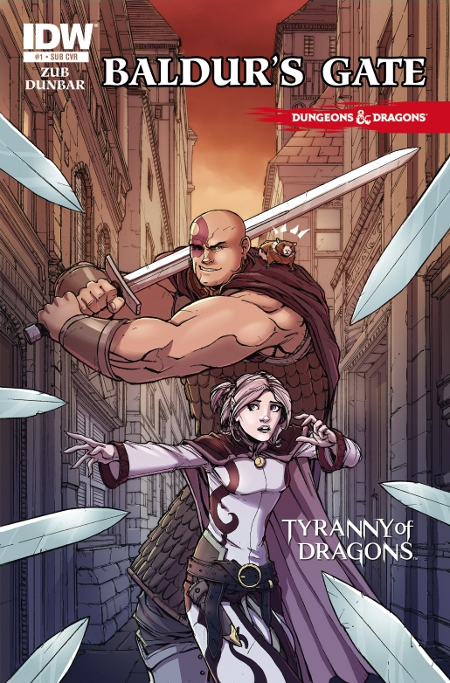 IDW Goes For The Eyes With New Baldurs Gate Comic