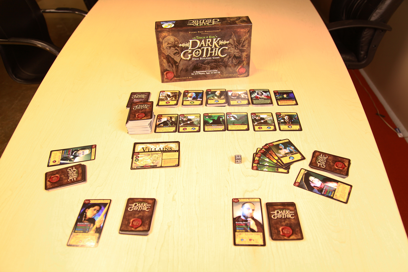 Dark Gothic Deck Building Game Review | Reviews | The Escapist