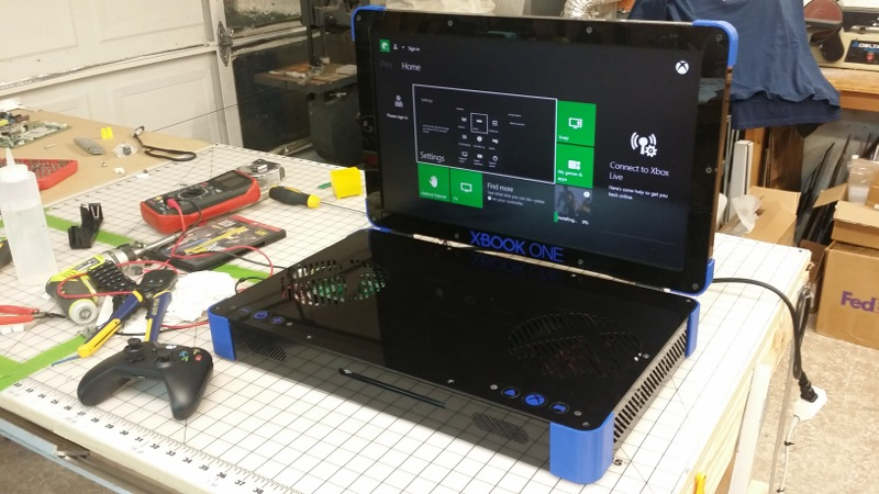 Laptop screen for xbox 360