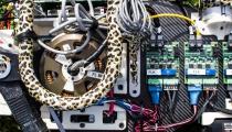 Photo Credit: Jose-Luis Olivares/MIT. MIT Description: The custom, high-torque-density motors and amplifier.