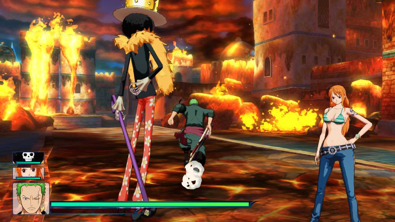 one piece unlimited world red 3ds download size