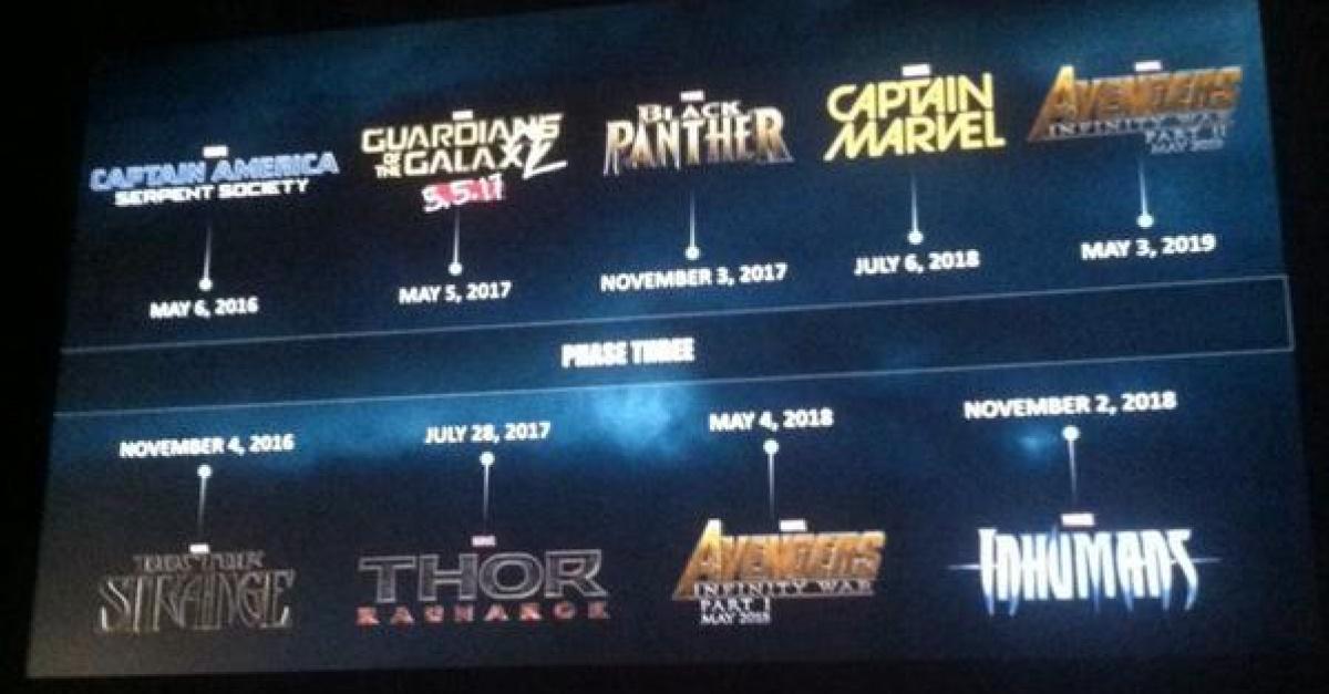 Marvel Studios Phase 3 Plans Revealed The Escapist