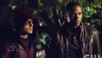 Colton Haynes as Arsenal and David Ramsey as John Diggle. Photo Credit: Cate Cameron/The CW.