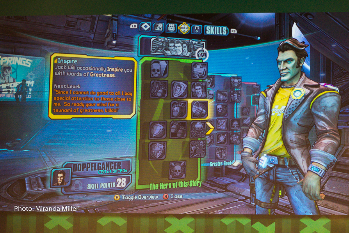 Handsome Jack Will be Playable in Borderlands: The Pre