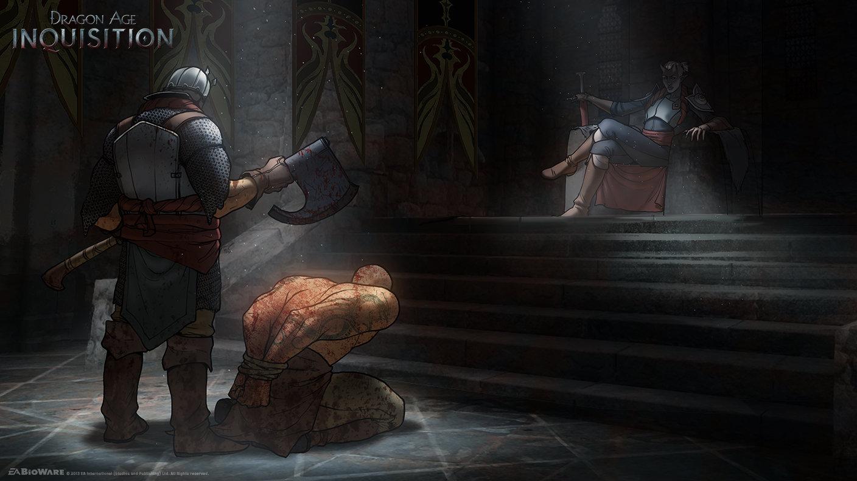 Dragon Age Concept Art Environment