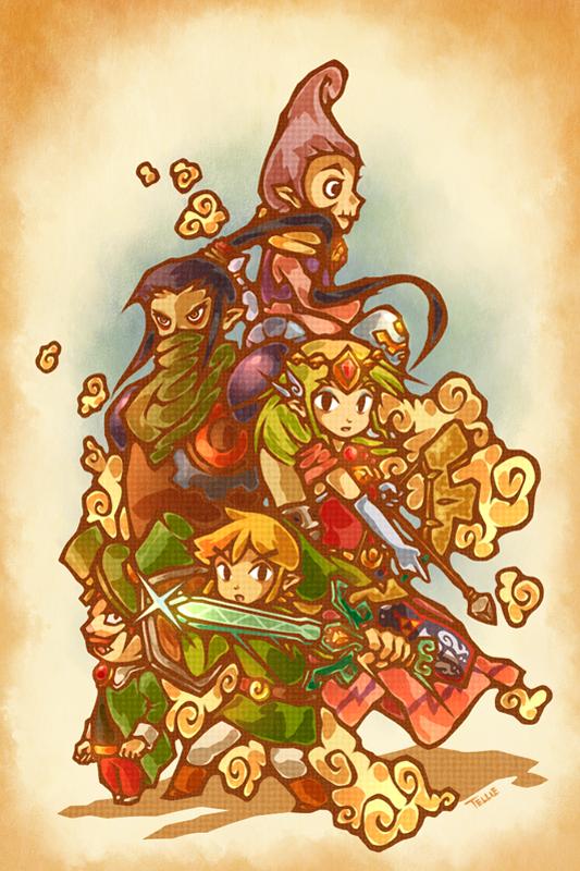 Legend Of Zelda Wind Waker Deviantart Fan Art The Escapist