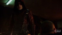Colton Haynes as Roy Harper/Arsenal. Photo Credit: The CW.