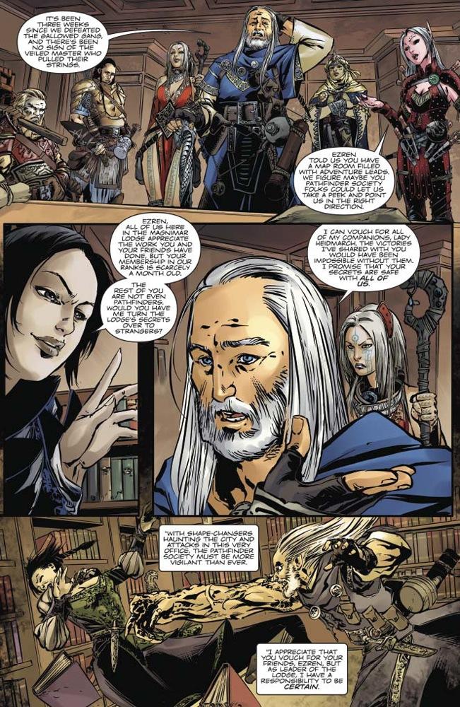 Pathfinder Comic Book