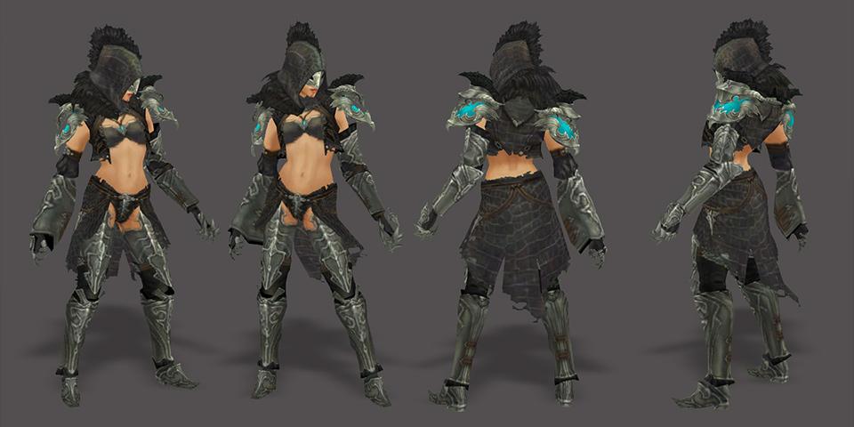 Kingdoms of amalur reckoning female armor your