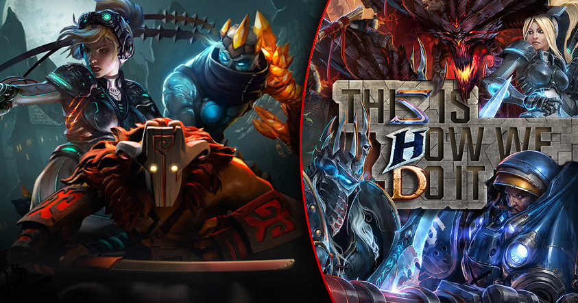 The Difference Between Heroes Of The Storm And League Of Legends Or Dota 2 This Is How We Do It The Escapist