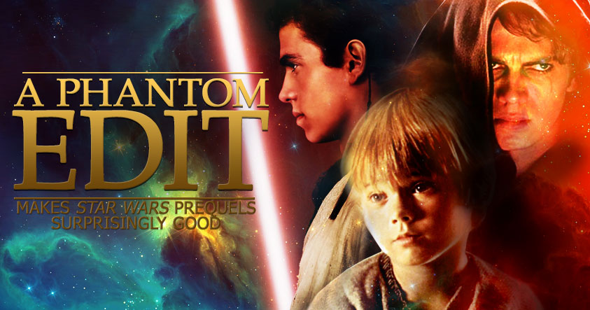 """A Phantom Edit"" Star Wars Prequel Fan Edit Review ..."