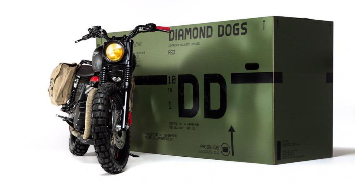 Triumph Metal Gear Custom Motorcycle Mcm London Comic Con