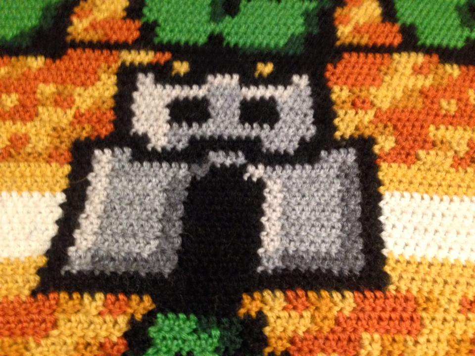 Great Fit 14f43 00cf8 Ravelry Sylvais Super Mario Bros Blanket