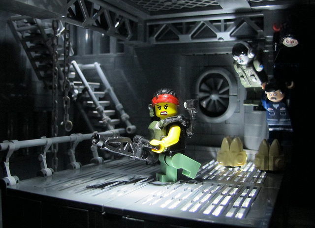 Aliens' Xenomorph Hive Goes LEGO in Awesome Build