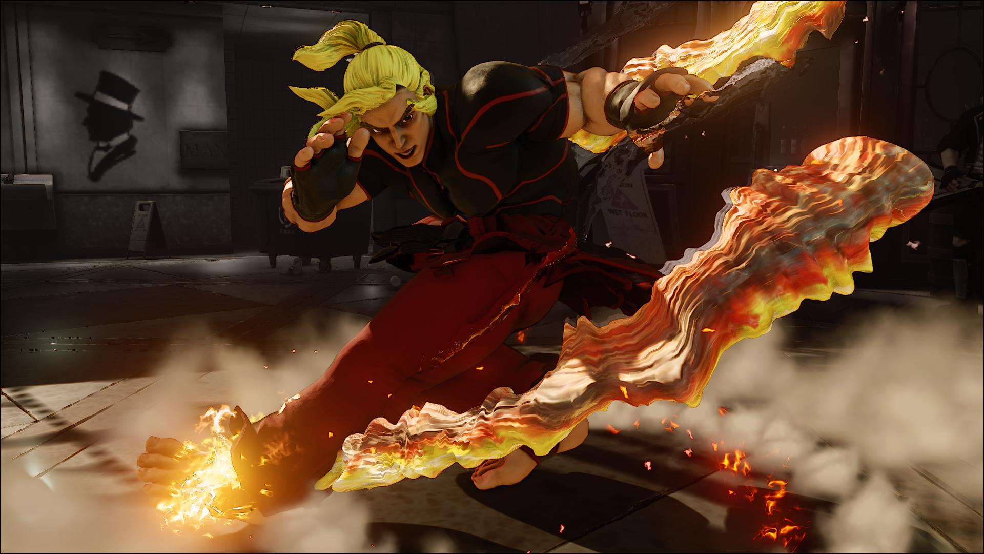 Capcom Explain S Ken S Bizarre New Street Fighter V Look