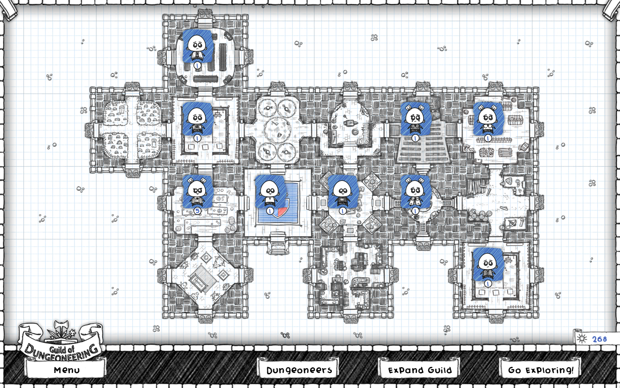 Guild of Dungeoneering Review Gambrinous | Reviews | The