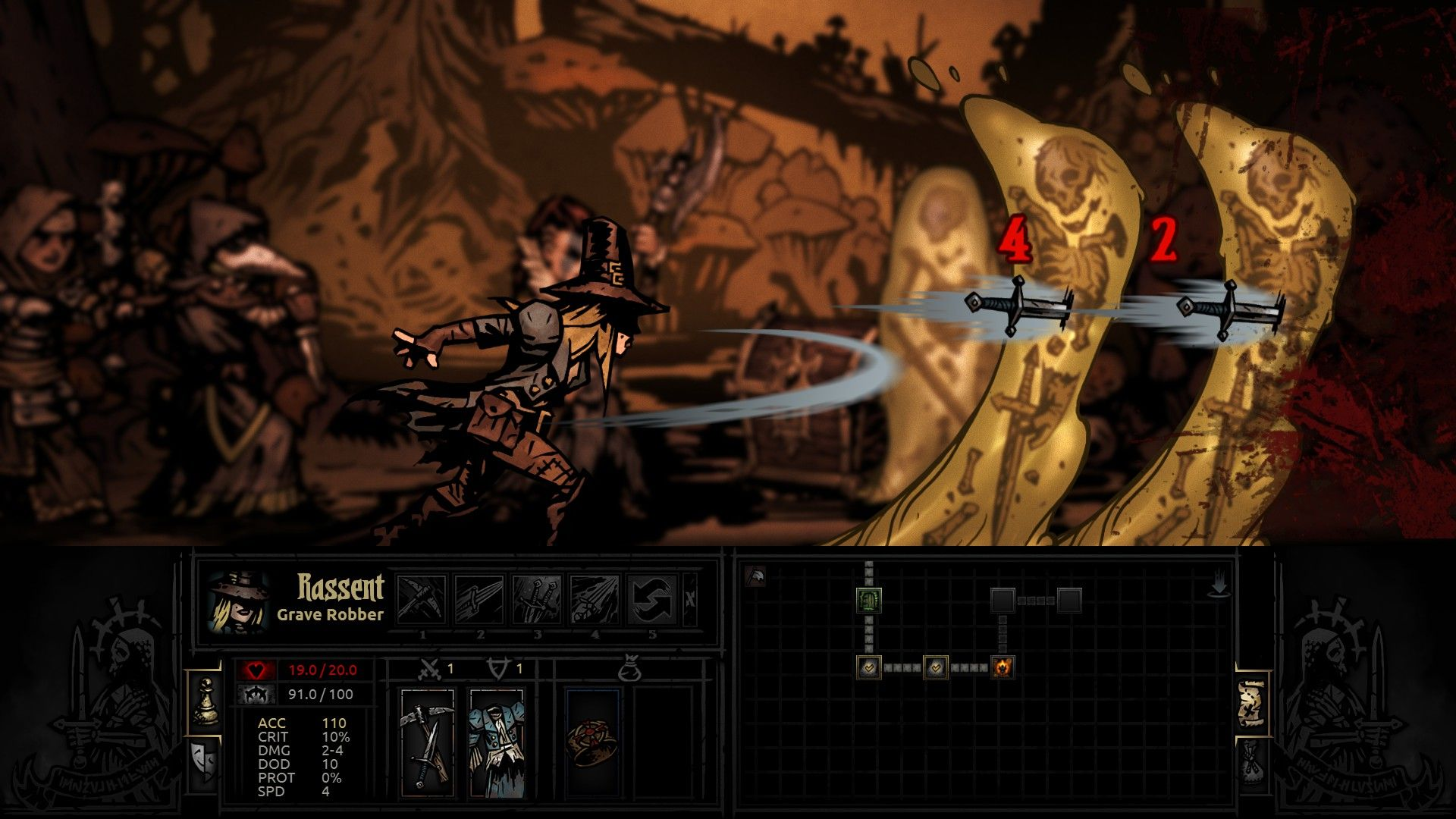 Darkest Dungeon Early Access Preview Impressions | Video