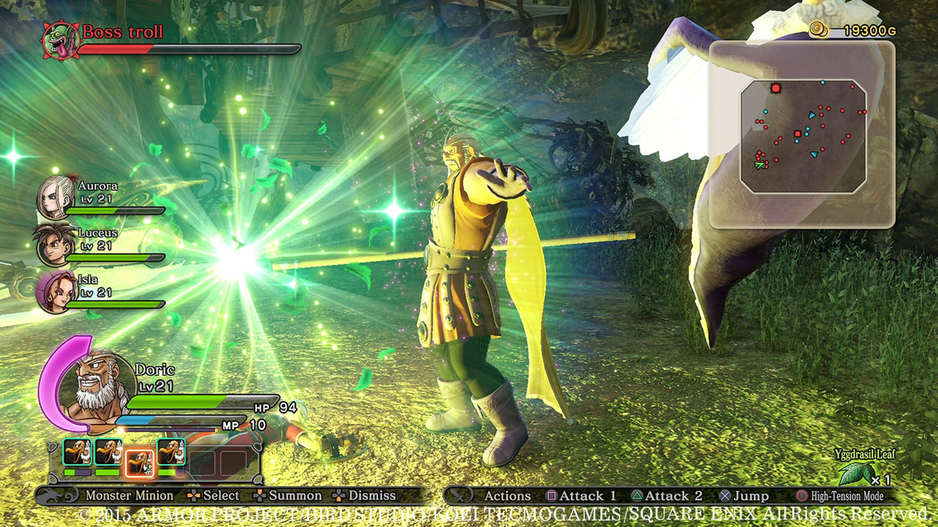 Dragon Quest Heroes Screenshots | The Escapist