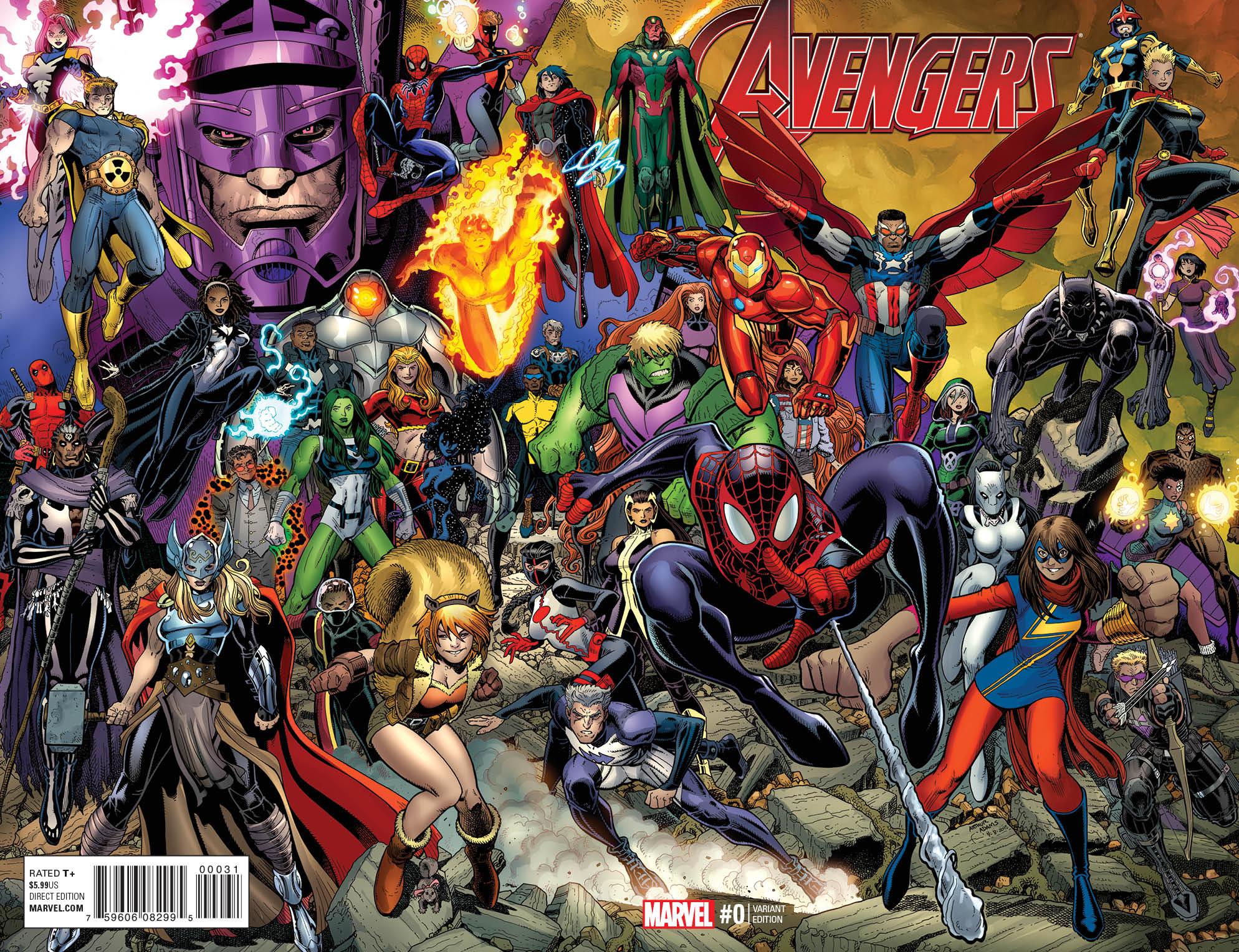 "Personajes De Marvel: Gallery: Marvel Previews All-New ""Avengers #0"""