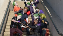 Jokers aren't exactly best friends with cops.