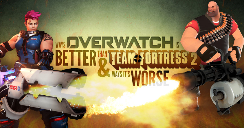 Comparison Of Overwatch And Team Fortress 2 Competitive